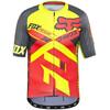 Fox Ascent Pro Koszulka kolarska Mężczyźni żółty/czerwony